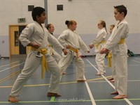 Click to view album: Red & Yellow Belt Grade March 2012